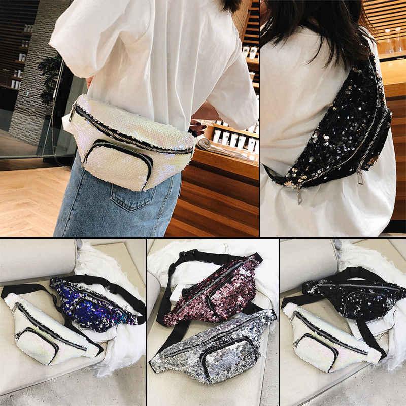 2019 новейшая Сумка-бум поясная сумка для путешествий поясные сумки для фестиваля кожаный кошелек для отдыха кошелек с блестками поясные сумки