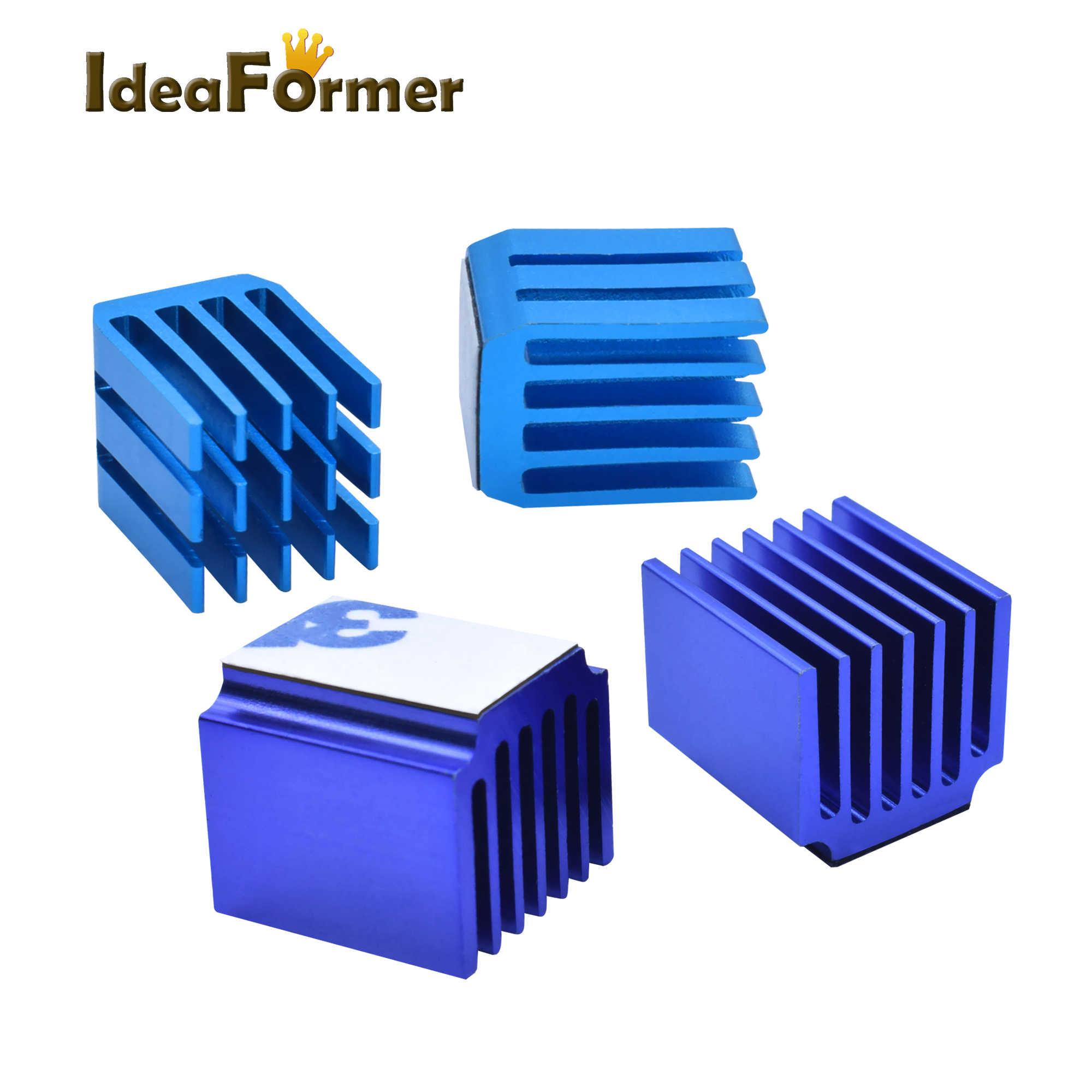 4/5/10 ピース/ロット 3D プリンタ部品ステッピングモータドライバヒートシンク冷却ブロックヒートシンク TMC2100 ため LV8729 DRV8825 ドライブモジュール