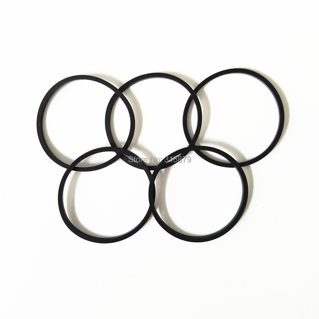 5 pieces/lot Rubber Band for CD VCD DVD Player Round Belt Diameter 30mm