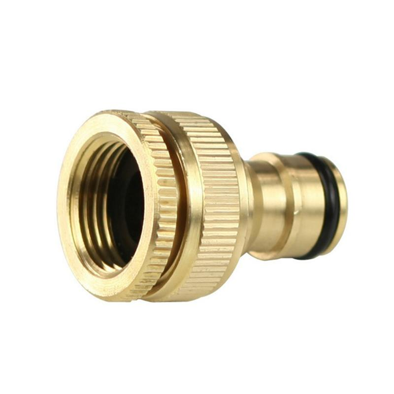 Garden Pipe Quick Fit Adapter Water Hose Tap Connector Fitting Switch Nozzle