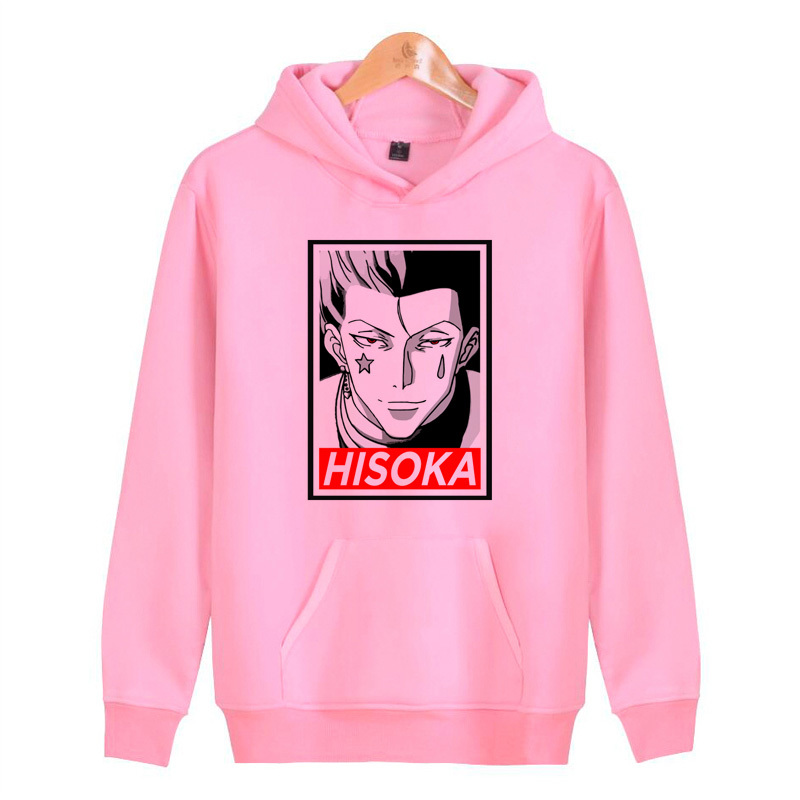 Hisoka Hoodies Sweatshirts Hip Male Hoddies Homme Streetwear Pullover Hop Harajuku Men/women J1202