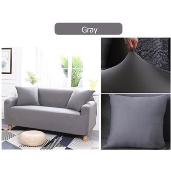 Fodera Per Sedia | 3 Colori 2/3 Posti Divano Copertura Fodera Stretch Elastico Divano Sedia Protezione Per La Casa, Ufficio E Hotel