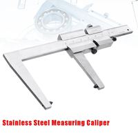 0 60mm Capacity Caliper Vernier Brake Disc Disks Stainless Steel Measuring Tool 161mm 0.1mm Measurement & Analysis Instruments