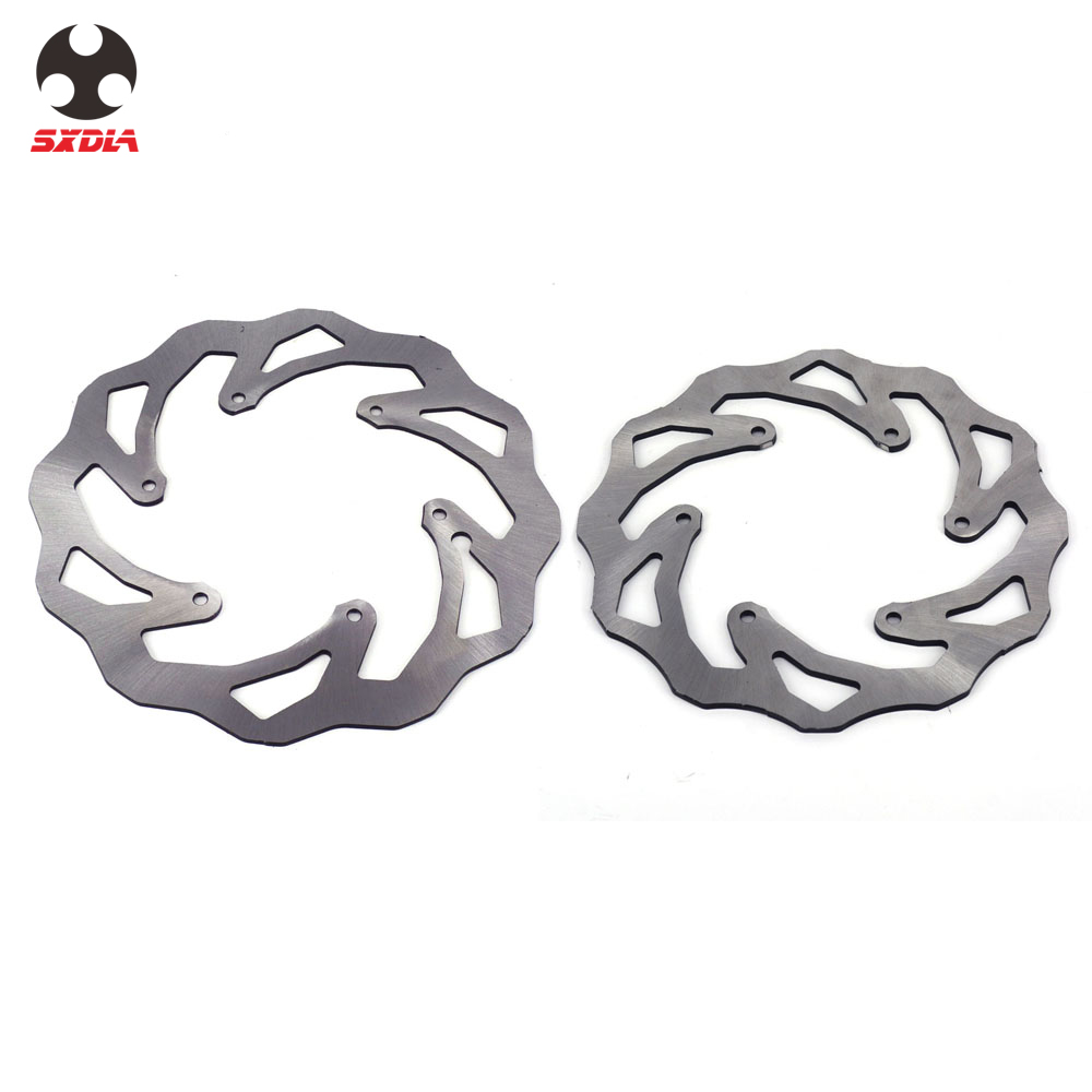 Front & Rear Brake Disc Rotor Set 260 220 Stainless Steel For KTM EXC EXCF SX SXS SXF XC XCW XCF XCFW 250 300 350 380 400 450