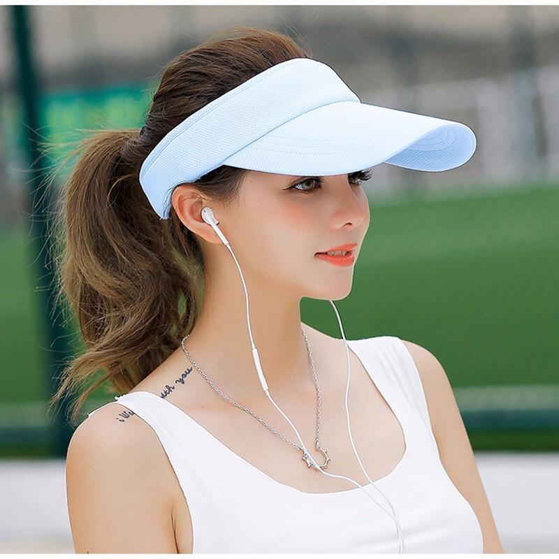 2019Hot Selling New Tennis Caps Stylish Women Men Unisex Beach Sports Sun Visor Hat Golf Caps Summer Travel Sun Hat Outdoor On
