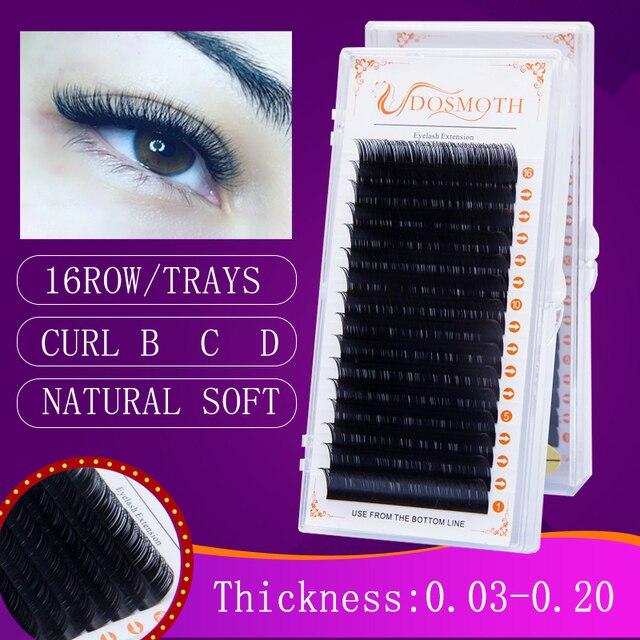 1 case 0.03-0.20  eyelash extension ,mink individual lashes ,soft natural eyelashes,fake false eyelashes, Makeup eyelashes mink 1