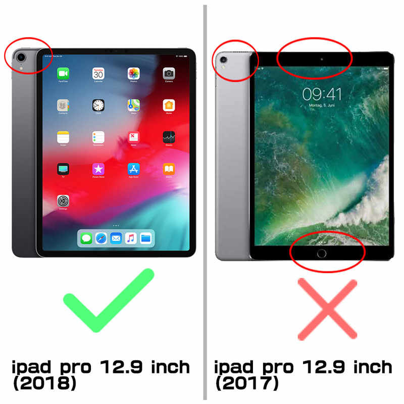 For iPad Pro 12.9 Case (2018) Compatible Apple Pencil SUPCASE UB PRO Full-body Cover with Built-in Screen Protector & Kickstand
