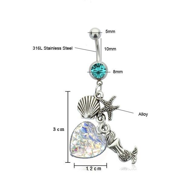 Купить богемные кристальные пупка кольца 2020 новые модные сексуальные