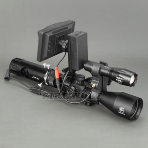 Image 4 - 100M Range DIY Digital Night Vision Rilfe Scope with LED Torch for Night Hunting Gear Night Vision Sight Hot Sale