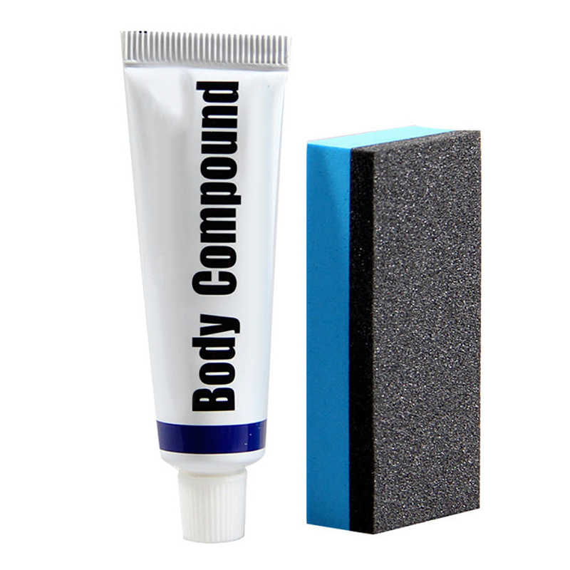 Car Body Compound PASTE Set Scratch Paint Care Auto Polishing Grinding Compound Car PASTE Polish Care