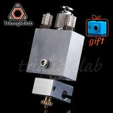 Trianglelab Arethusa liquld cooling hotend for 3D printing peek PA  filament  FOR E3D V6 HOTEND titan AQUA water cooling цена 2017