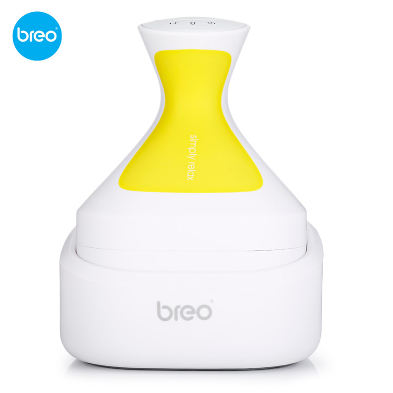 Breo Head Massager Waterproof Wireless Scalp Massage Tool Prevent Hair Loss Promote Hair Growth Health Care