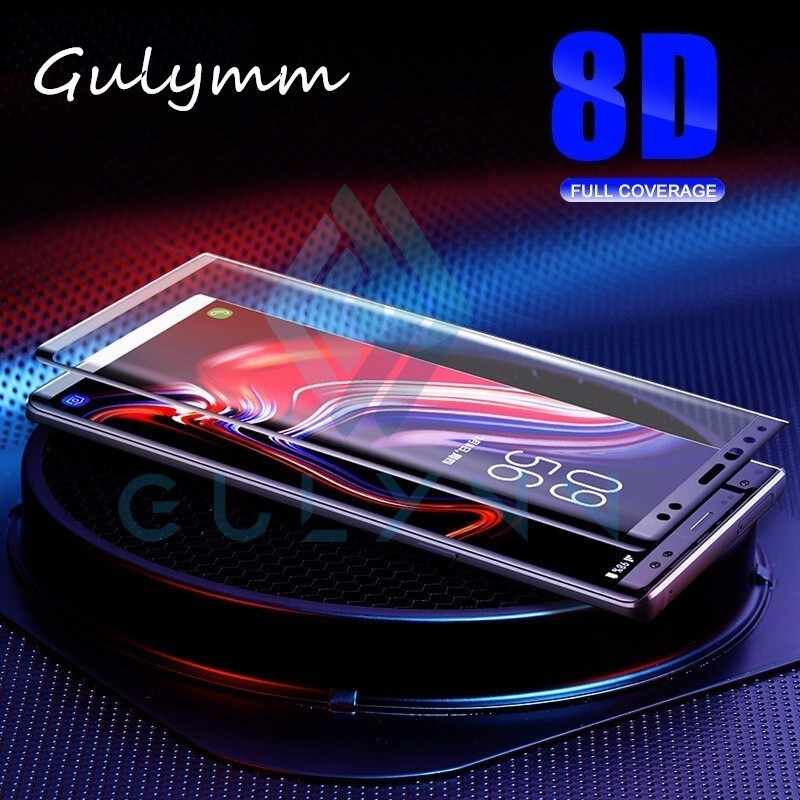 8D Full Cover Screen Protector For Samsung Galaxy S8 S9 Plus Note 8 9 9H Premium Real Tempered Glass For S10 S10 Plus 10E Film