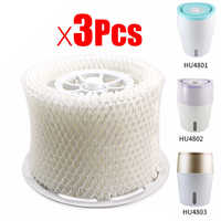 Más Vendidos filtros humidificadores de aire originales 3 uds Adsorb bacterias y báscula para Philips HU4801 HU4802 HU4803 HU4811 HU4813 Humidifie