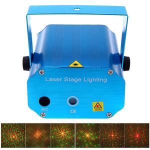 Image 5 - Mini LED Laser Projector Christmas Decorations Laser Disco Light Laser Light Dj Voice activated DJ Disco Xmas Party Club Light