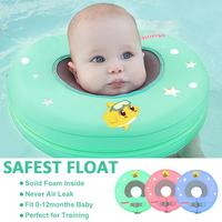 Baby infant Swimming neck Float No Inflatable Swimming Pool ring Safety Swim Training Aid for Bathtub Pools Swim Trainer