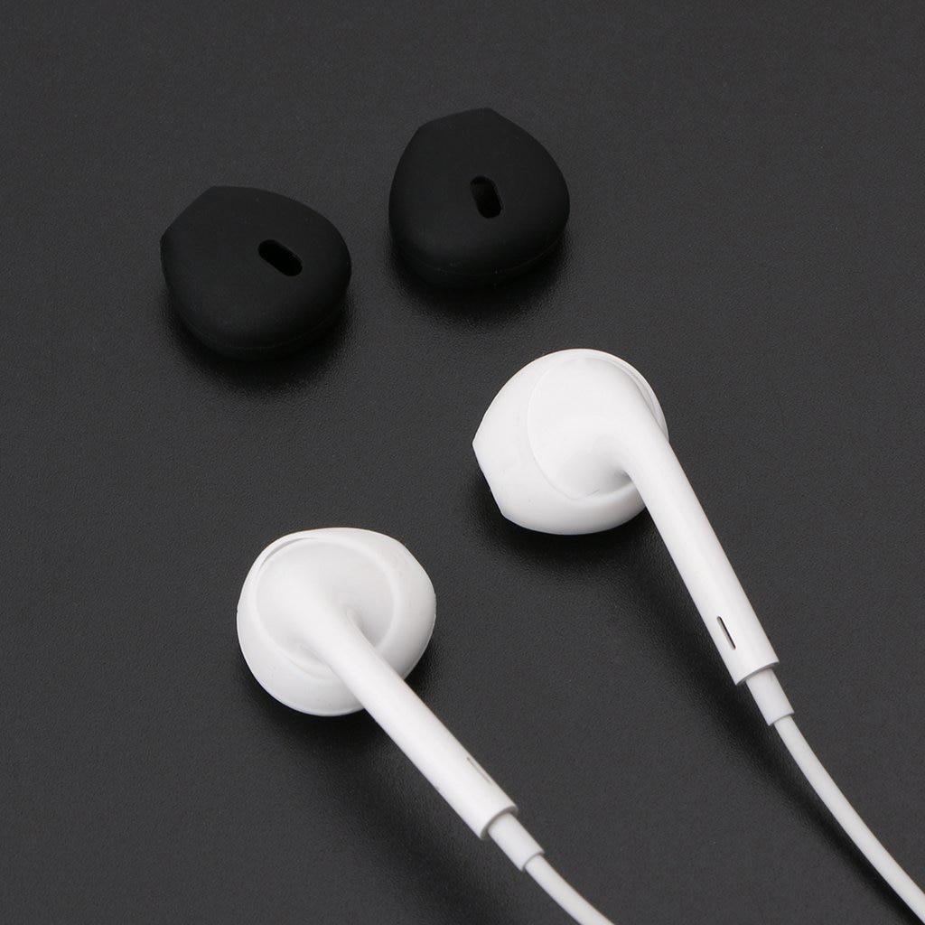 Portable Audio & Video Silicone Earphone Case Earpads For Iphone Wireless Headset In-ear Airpod Earbuds Tips Eartips Earplug Smart Headphone Earplugs