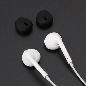 Silicone Earphone Case Earpads for iphone5 6 6plus 6s 6splus 7 In-Ear for Airpod Earbuds Tips Eartips Earplug Earplugs Earpods