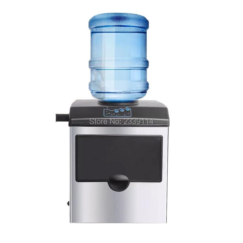 Initiative 25 Kg Eismaschine Kleine Automatische Eismaschine Elektrische Haushalts Kugel Eiswürfel Machen Maschine Für Den Heimgebrauch Bar Kaffee Shop Schnelle WäRmeableitung