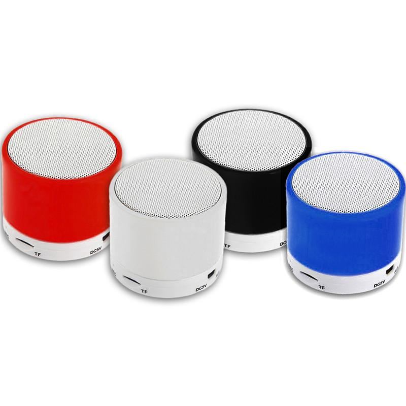 Outdoor Portable TF Card Inserted Wireless 2.1 Speaker Pill Shaped Long Standby 3.5mm Jack Stereo Plug