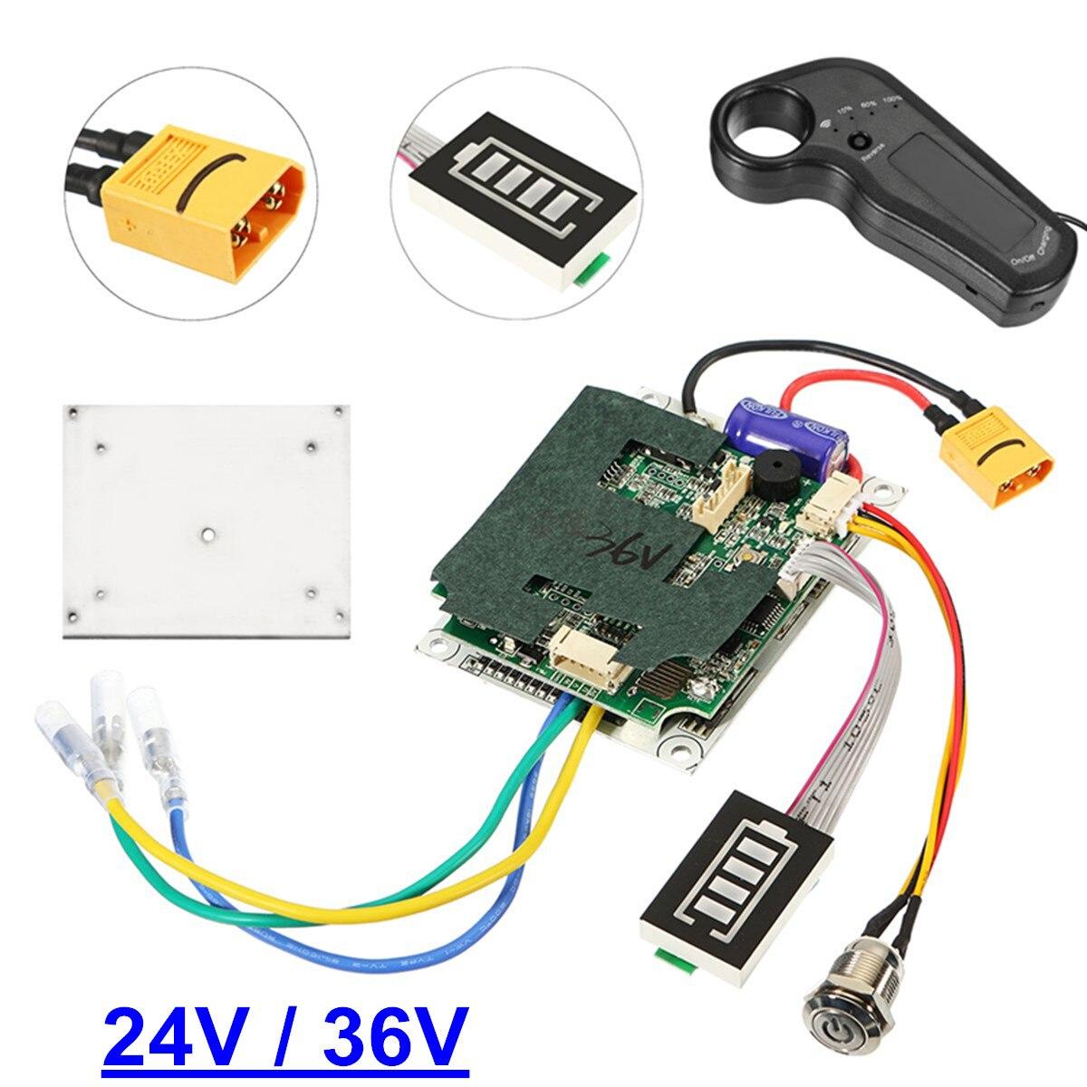 24/36 V unique ceinture moteur électrique planche à roulettes contrôleur Longboard ESC pièces de rechange Scooter carte mère Instrument outils
