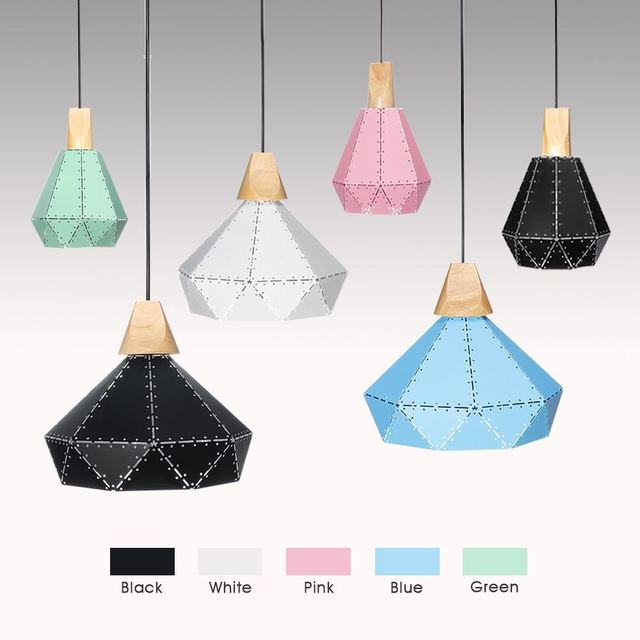 Nordic Simple Pendant Light E27 LED Modern Fashion Hanging Lamp Design By Yourself For Bedroom Lving Room Lobby Restaurant Bar