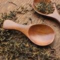 Деревянная ложка для смешивания маленькая мини-ложка для меда  кофе  приправ  соли  сахара  8 см * 3 3 см #0128