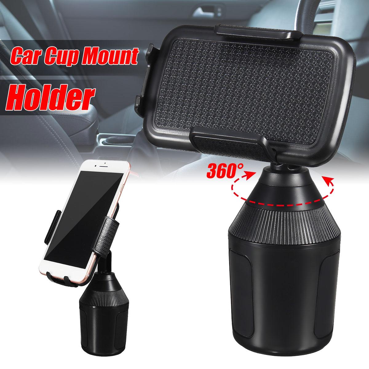 El GPS del teléfono celular portátil soporte 360 ajustable del teléfono móvil de la Copa del sostenedor del coche soporte Clip de montaje para iPhone para UMI23