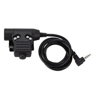 Гарнитура адаптер Z113 для Walkie-Talkie Yaesu 3,5 мм 4-полюсный U94 PTT кабель профессиональная
