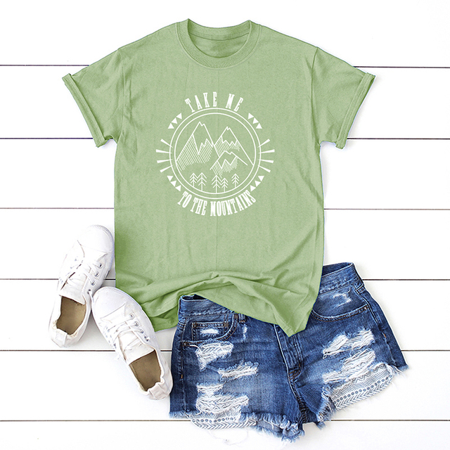 US $7 79 40% OFF|Harajuku Casual Women Cotton T Shirt Peace Love Vegan  Letter Print Summer Oversized T Shirt Short Sleeve O Neck Loose Tee Tops-in