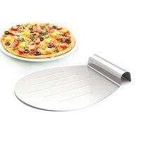 1 шт выпечки инструменты Нержавеющаясталь переносная корзинка для пирожного перемещение пластины хлеб нож для пиццы Лопата формы для выпе...