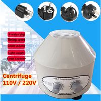 Desktop 800 1 110V/220V 4000Rpm Electric Centrifuge Laboratory Medical Practice Lab Centrifuge Electrical Equipment