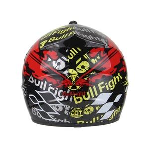 Image 5 - 高品質オートバイヘルメット保護 capacete オートバイ女性 & 男性オフロードモトクロスヘルメット承認