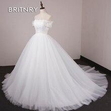 BRITNRY Ball Gown Wedding Dresses 2019 Bride dress