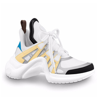 Ins/2018 Осенняя женская обувь белого цвета с супер огнем, модные стильные кроссовки на платформе смешанных цветов, роскошная женская обувь