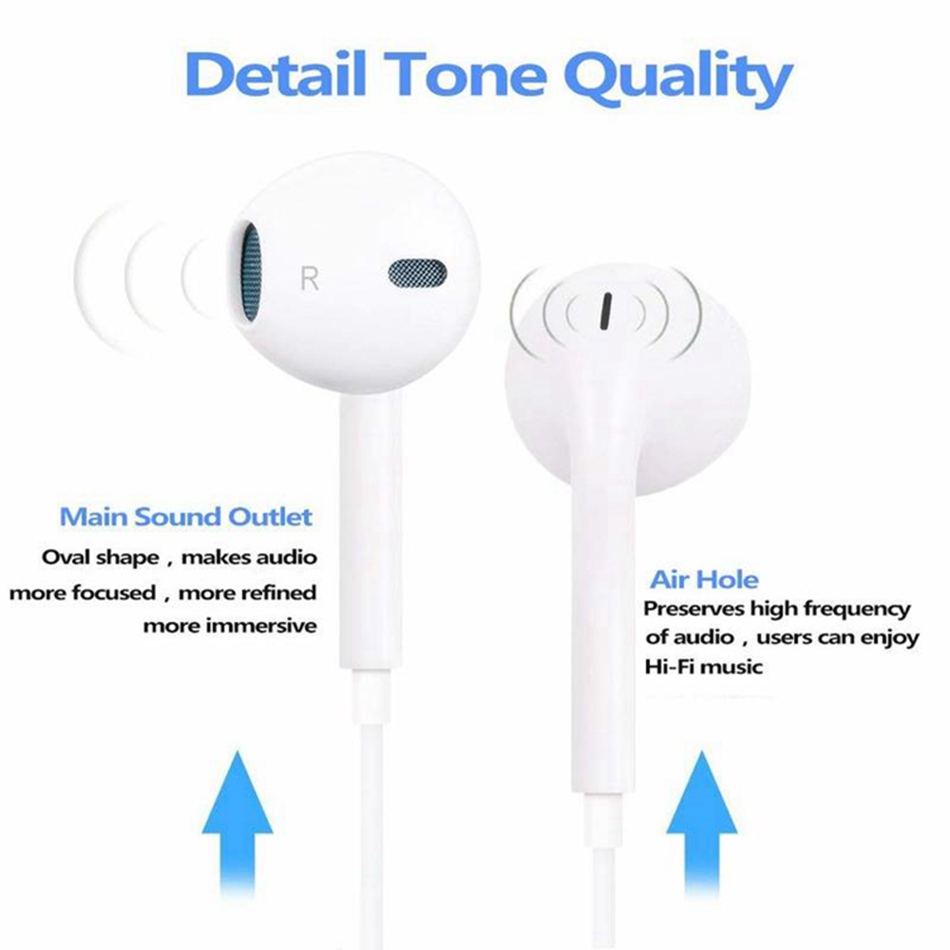 Official Original In Ear Earphone with Microphone For iPhone 7 8 Plus X XS Max Stereo Earphone For Lightning iPhone Sport EarbudOfficial Original In Ear Earphone with Microphone For iPhone 7 8 Plus X XS Max Stereo Earphone For Lightning iPhone Sport Earbud