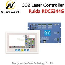 Ruida Rd RDC6344G 7 Touch Panel CO2 Laser DSP Controller For Laser Engraving And Cutting Machine RDC DSP 6344G NEWCARVE ruida laser control panel rdlc 320a