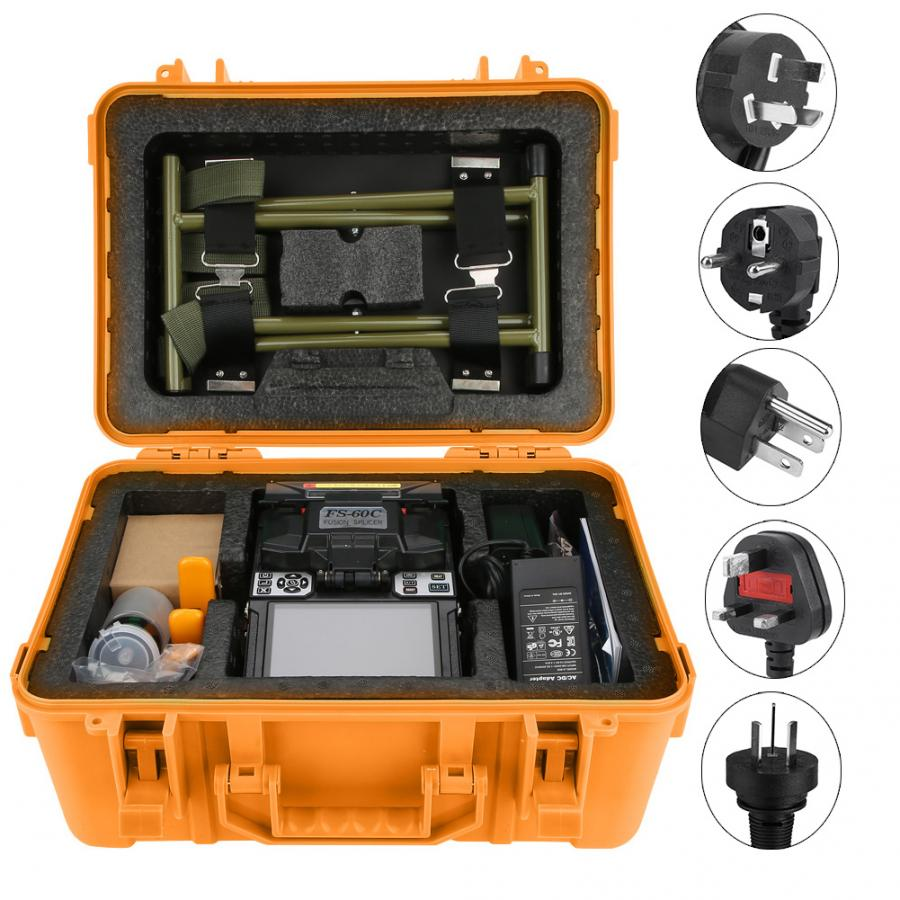FS 60C 100 240V Fiber Optic Welding Splicing Machine Optical Fiber Fusion Splicer for the connection