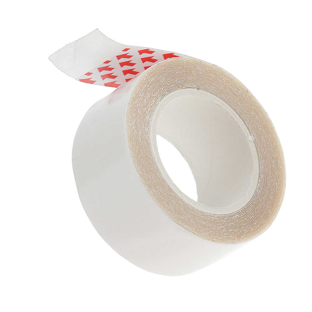 Sterke Dubbelzijdig Adhesive Roll Tape Voor Huid Inslag & Hair Extensions 2 Cm X 300 Cm Haarstukje Toupetje