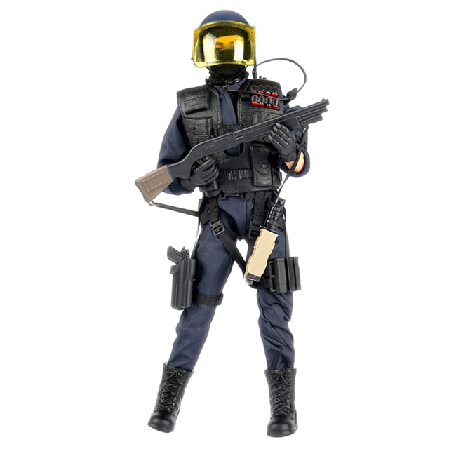 30cm 1:6 Outdoor Combatant Model Toy Joint Movable Military Model Action Figures Toy  with High Degree of Reduction