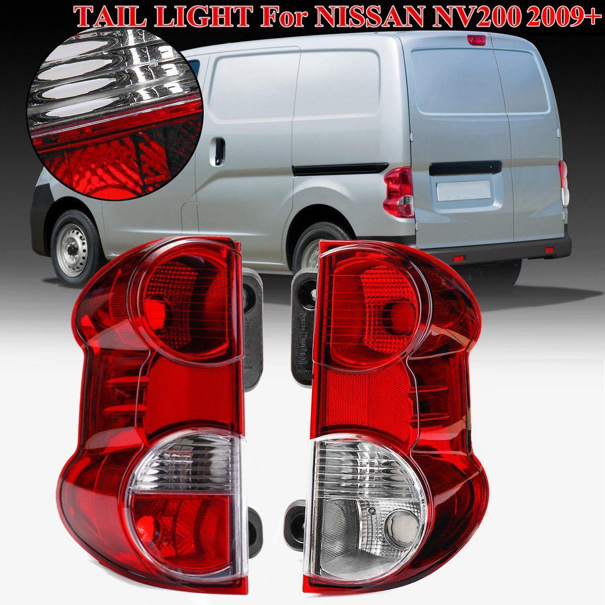 Pour NISSAN NV200 feu arrière Arrière feux de freinage Arrière lampe d'alerte 26550-JX00A 26555-JX31A 1 Paire Rouge Arrière feu arrière lampe de frein
