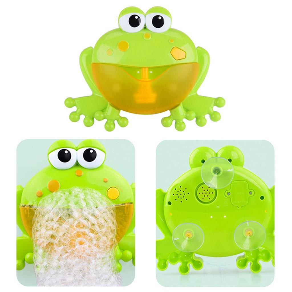 Aliexpress.com : Buy Baby Bath Bubble Machine Big Frogs ...