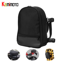KEMiMOTO Motorcycle Tail Pack Seat Bag Tank Bag Sport Street Bike Top Case Motorbike Luggage Shoulder Bag Backpack