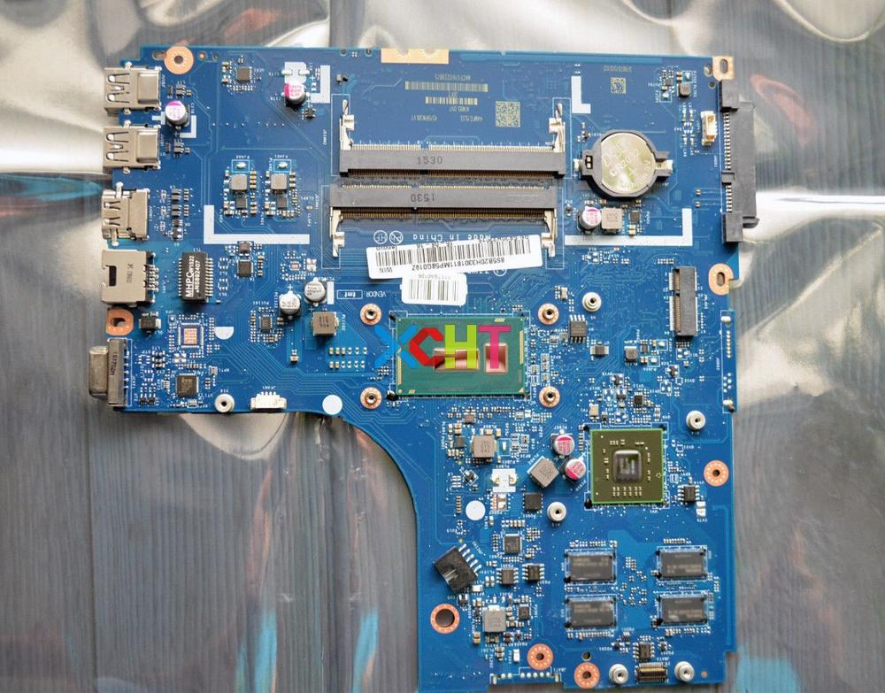 ZIWB2/ZIWB3/ZIWE1 LA-B091P w I7-5500U CPU R5 M330/2GB GPU for Lenovo Ideapad B50-80 Notebook PC Motherboard Mainboard TestedZIWB2/ZIWB3/ZIWE1 LA-B091P w I7-5500U CPU R5 M330/2GB GPU for Lenovo Ideapad B50-80 Notebook PC Motherboard Mainboard Tested