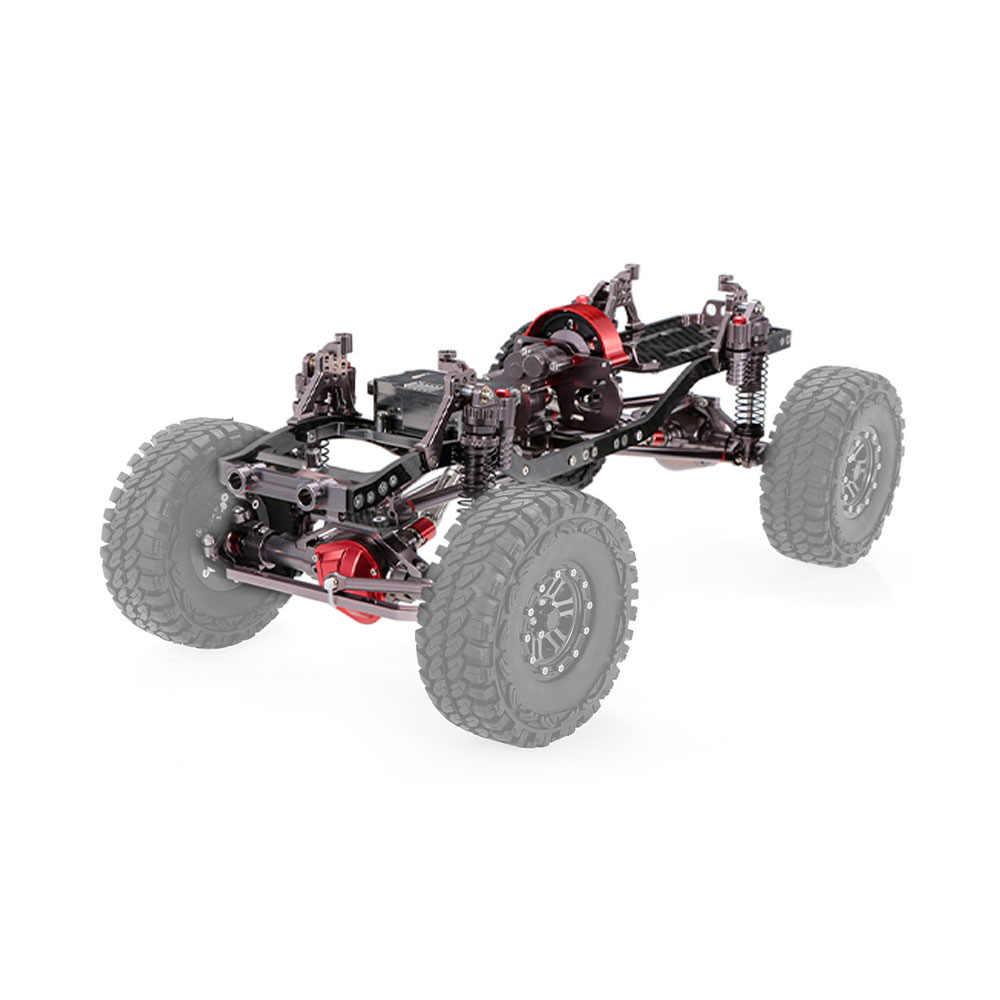 1:10 RC автомобиль каркасный комплект ЧПУ Алюминий Для осевой SCX10 RC Гусеничный восхождение RC DIY Сделай Сам части автомобилей