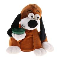 Electronic Plush Dog Coin Piggy Bank Dancing Laughing Doll Educational Toys Birthday Gift for Children Kids Toddler