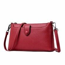 2019 женские сумки мессенджеры, Высококачественная Маленькая кожаная сумка на плечо, Женская винтажная Сумка клатч с клапаном для девушек, новая сумка