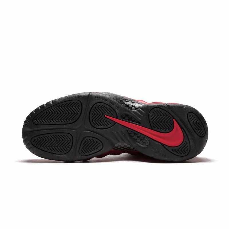 """نايك الهواء Foamposite برو """"Universty الأحمر"""" جديد وصول الرجال حذاء كرة السلة وسادة هوائية صدمة امتصاص رياضية #624041-604"""