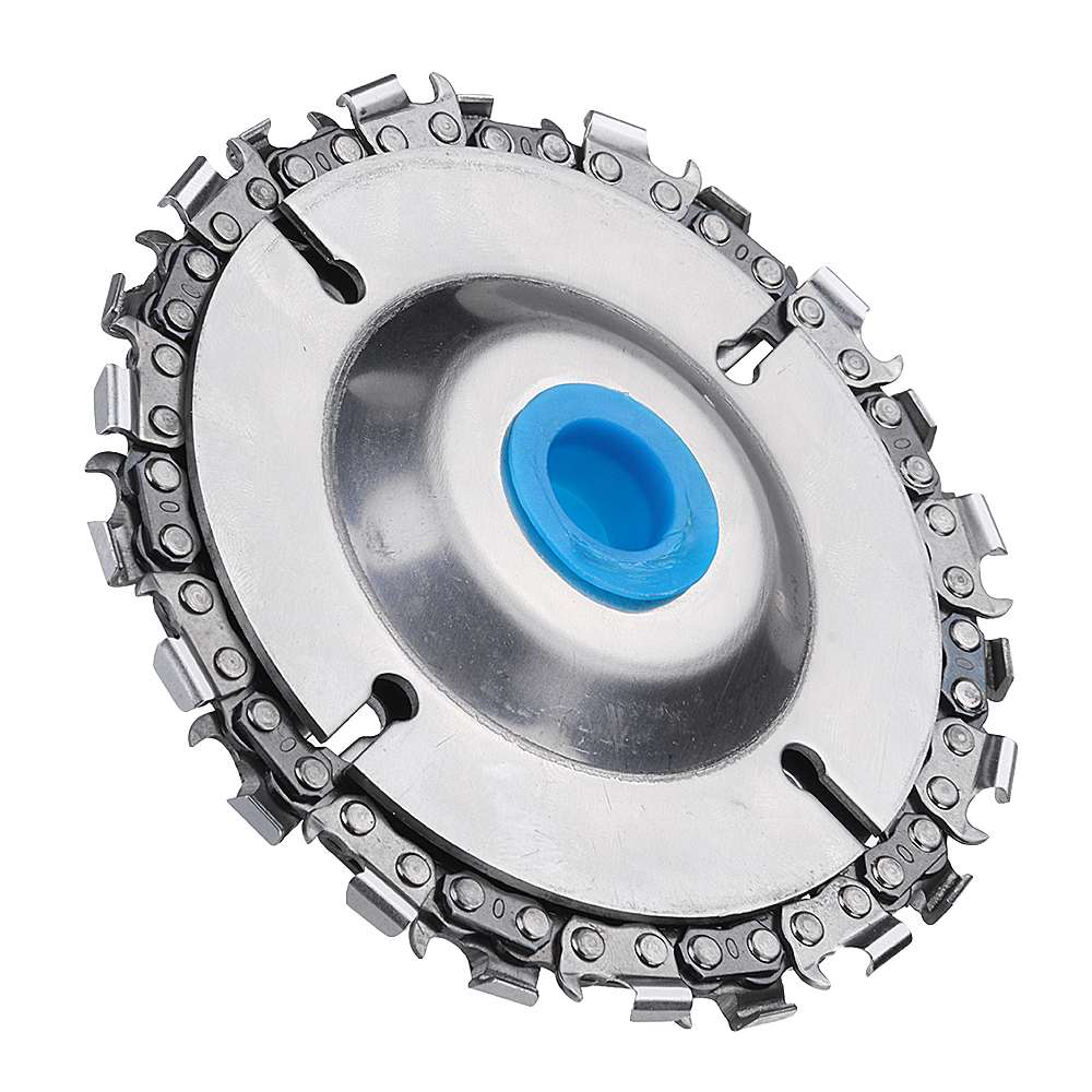 New 4 Inch Grinder Chain Disc 22 Tooth Wood Carving Disc For 100/115 Angle  Grinder