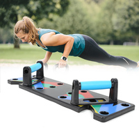 9 In 1 Push Up Rack Board Men Women ABS Comprehensive Fitness Body Building Training Muscle Exercise Home Gym Fitness Equipment